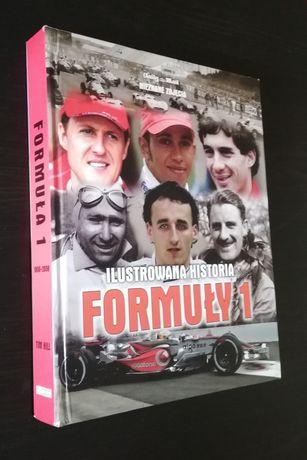 2 książki - albumy m.in. Ilustrowana historia Formuły 1