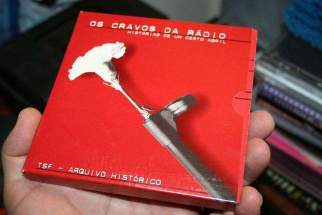 25 de Abril de 1974 - Coleção CDs OS CRAVOS DA RÁDIO - ARQUIVO TSF
