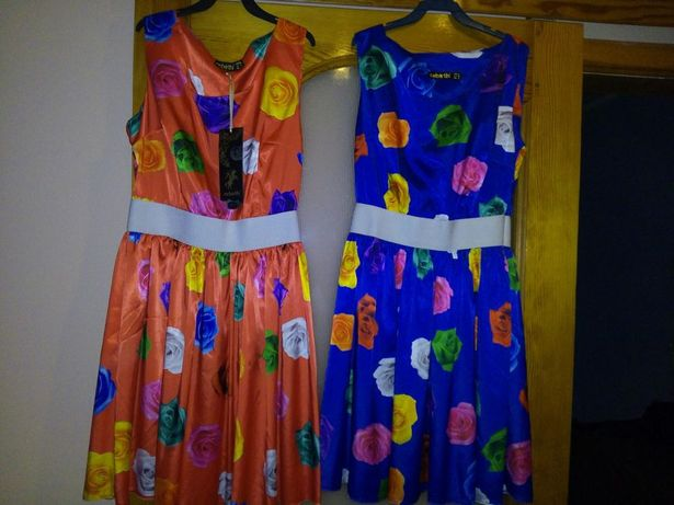 Веселенькие платья