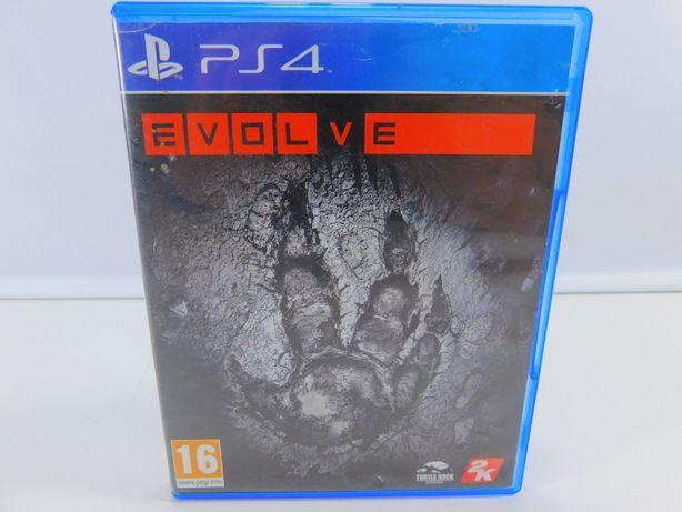 Gra na PS4 - EVOLVE zadbana, wersja pudełkowa