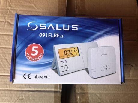 Безпровідний програмований кімнатний терморегулятор SALUS 091FLRF v2