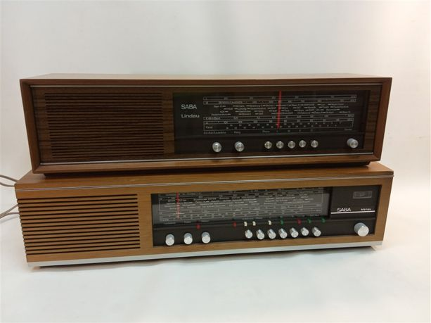 2 x radia stołowe Telefunken Lindau oraz Mainau