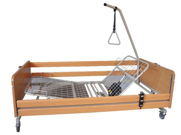 Łóżko rehabilitacyjne elektryczne 3- FUNKCJE WYSIĘGNIK+ MATERAC