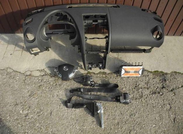 Tablier airbags cintos Nissan Qashqai 1