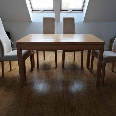 Stół lite drewno + 4 krzesła - marka die Klose