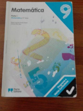Livro/Manual de Matemática 9º ano