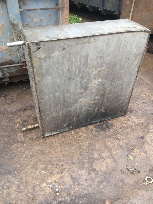 Продам бак нержавійка 1000х1000х400 вага 83 кг . Ціна металобрухту. Рогатин - изображение 1