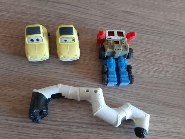 Zabawki happy meal Pan samochodzik robot inne McDonald empik smyk