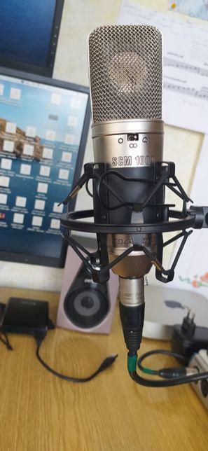 микрофон студийный конденсаторный NADY scm 1000