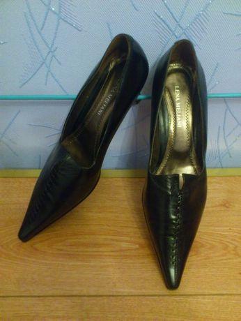 Туфли кожаные LENA MILAN