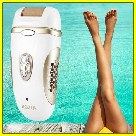 Эпилятор женский для ног Rozia HB-6007 Триммер женский Жіночий епілято