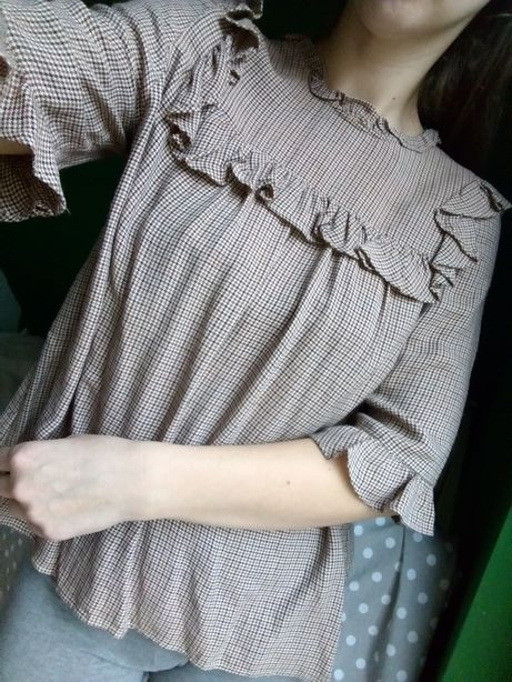 Bluzka Zara M kratka