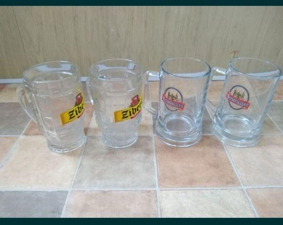 Большие пивные бокалы 0,5 л