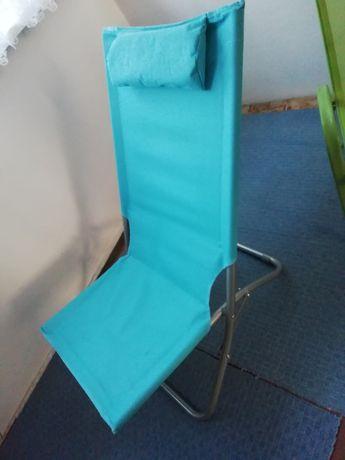 Krzesło leżak składane
