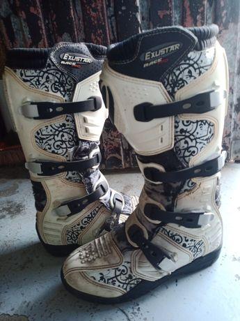 Botas motocross n42 usadas 2vezes