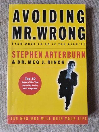 Avoiding Mr. Wrong Stephen Arterburn książka po angielsku