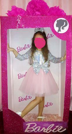 Коробок декор для фотосессий день рождения стиль Барби