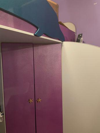 Кровать-чердак для девочки