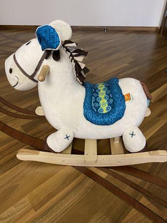 Продам лошадку-качалку Родео пони Battat бежевую в отличном состоянии