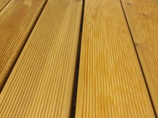 Deska tarasowa modrzew syberyjski w jakości TOP VEH o wym. 27x143mm.
