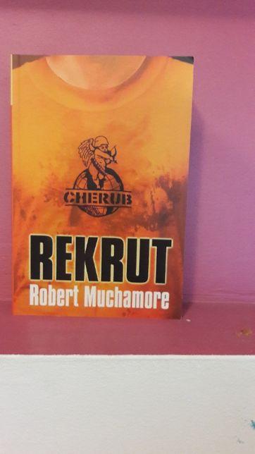 Rekrut Cerub Robert Muchamore wydanie pierwsze - książka nowa