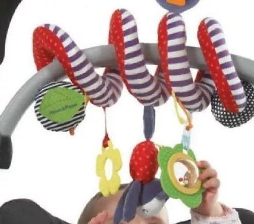 Brinquedo para pendurar no carrinho, ovo ou berço de bebé - Novo