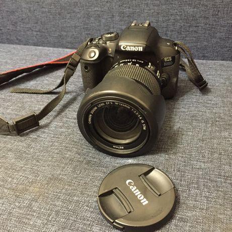Продам фотоаппрат Canon 800d
