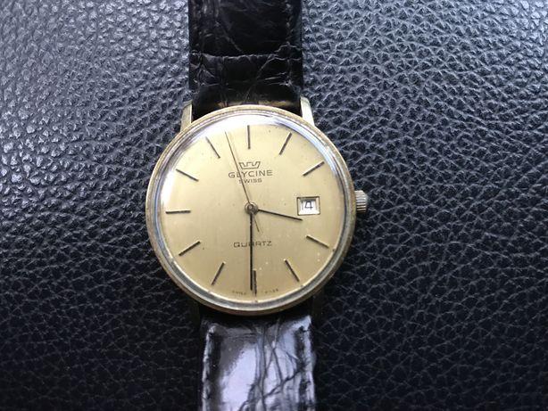 Szwajcarski Zegarek GLYCINE  złoto 14 K