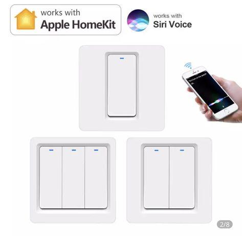 Вимикач для світла. Homekit apple. Голосове управління Siri