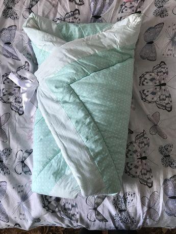 Конверт-одеяло для выписки с роддома