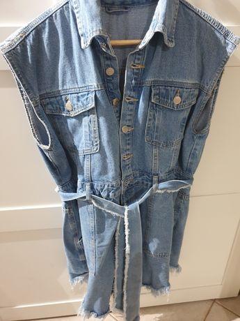 Sukienka jeansowa rezerwacja