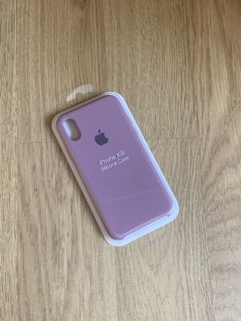 Apple etui case iphone x/xs fioletowy