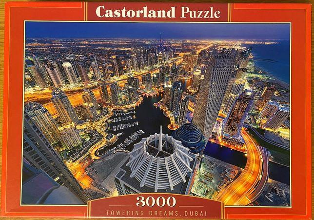Puzzle Castorland 300457, 3000 el, Towering Dreams, Dubai