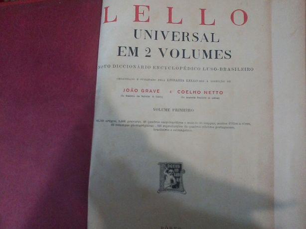 lello universal em 2 volumes