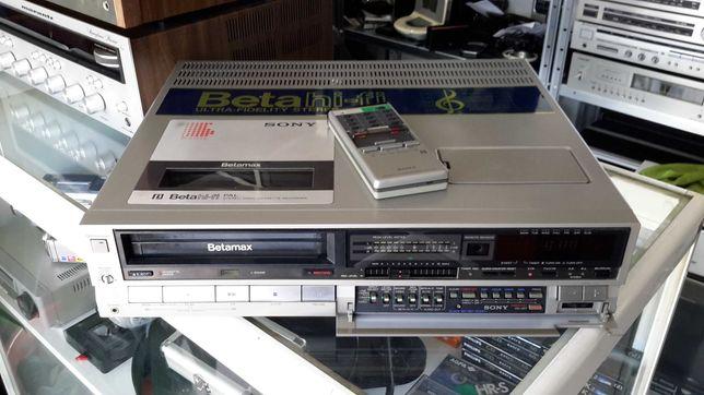 Video Sony Betamax,SL-HF 100 com comando.