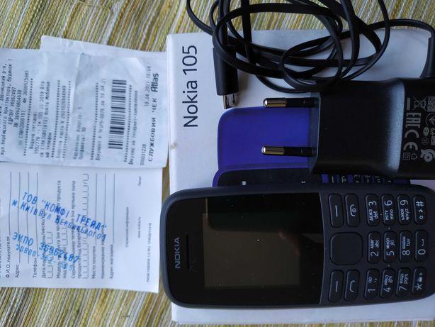 Nokia 105 новый, с гарантией
