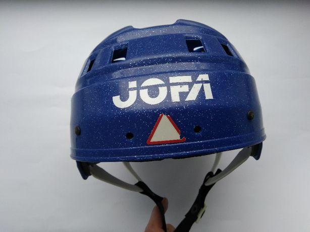 Хоккейный детский шлем Jofa, размер 49-56см.