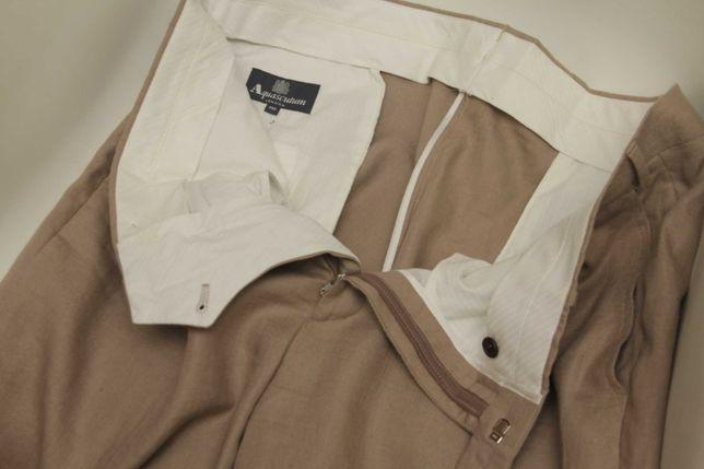 Aquascutum рр 38 брюки льняные брюки из льна