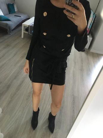 Sukienka z guzikami M