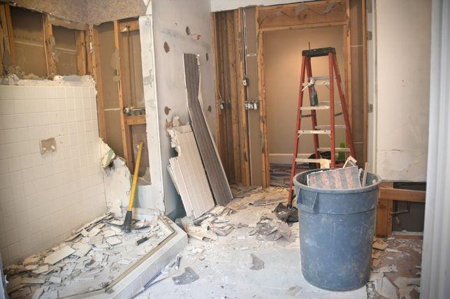 Wyburzenia rozbiórki i przygotowanie remontu.