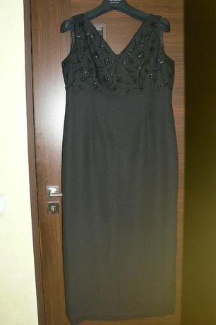 Sukienka czarna długa