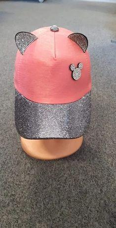 Nowa czapka z daszkiem myszka Minnie dziewczęca dla dziewczynki 3 kol