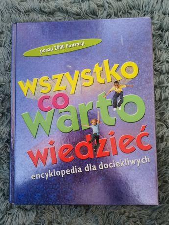 """Książka dla dzieci """"Wszystko co warto wiedzieć"""""""