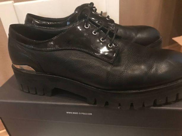 Туфли женские черные закрытые