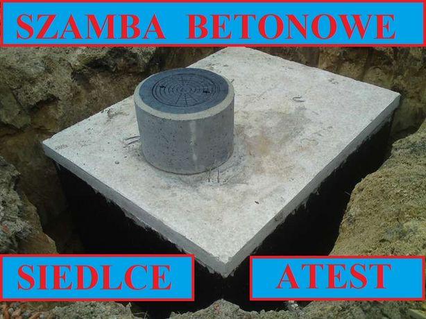 Szamba betonowe na ścieki 6m3 szambo zbiornik zbiorniki od 4 - 12