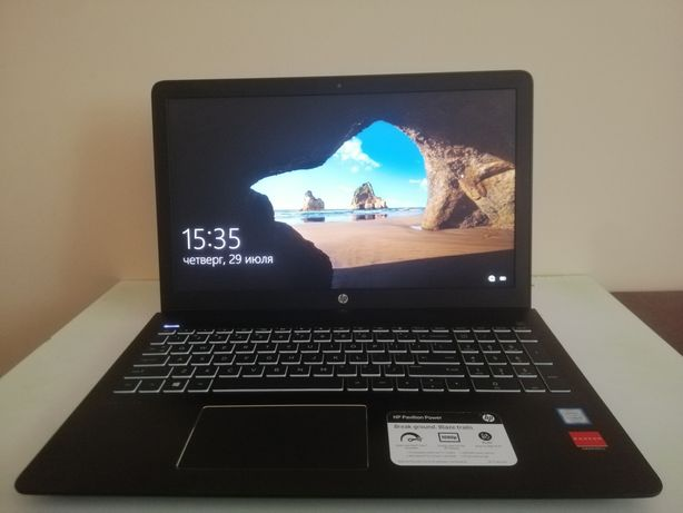 Ноутбук HP Pavilion Power 15-cb037ur