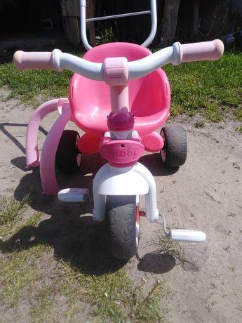 Rowerek smoby różowy
