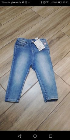 Nowe jeansy h&m 80