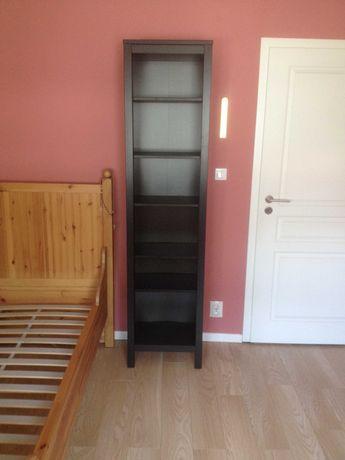 IKEA regał, półka HEMNES kolor ciemny brąz