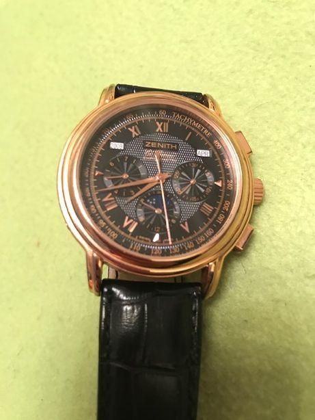 Авангардные мужские механические наручные часы Zenith.